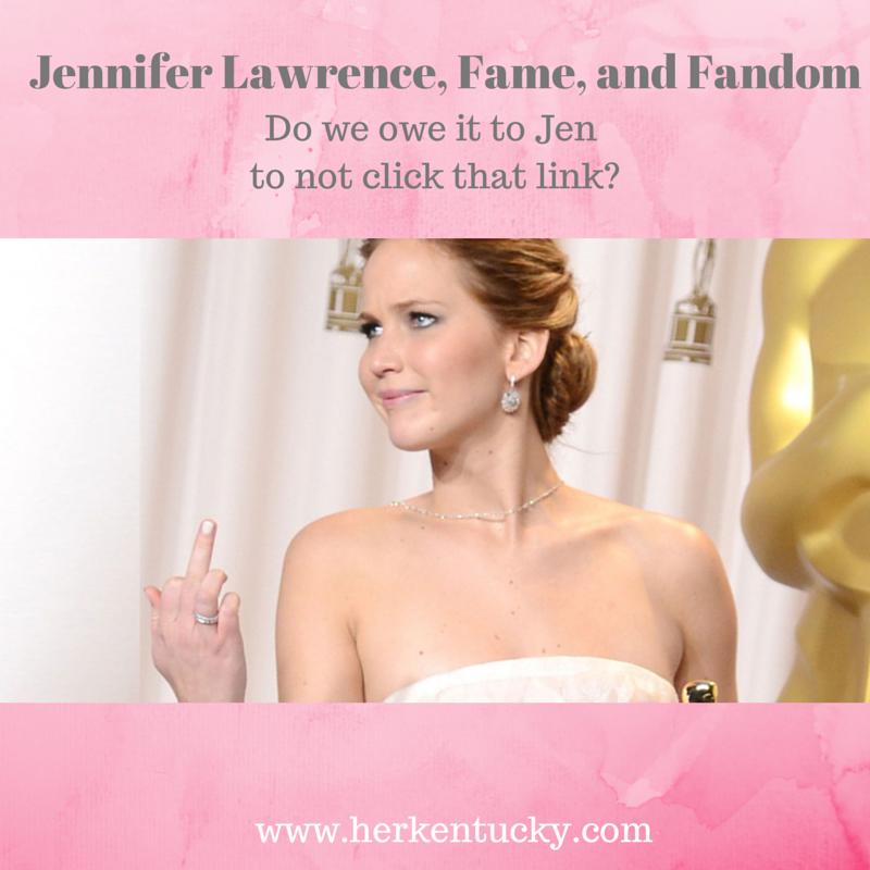 Jennifer Lawrence, Fame, and Fandom | HerKentucky.com