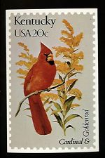 Kentucky State Bird Stamp