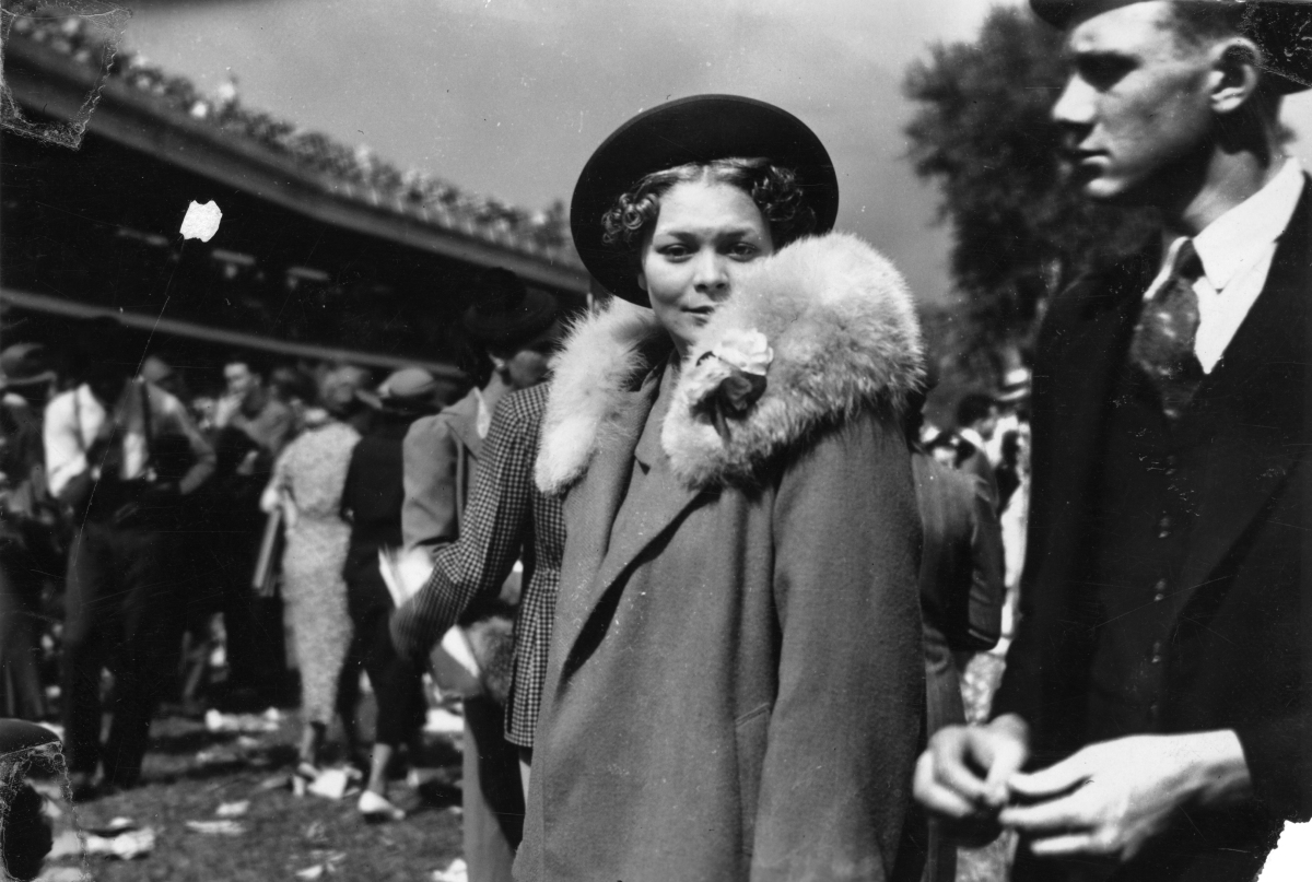 Kentucky Derby 1938.  via The Huffington Post.