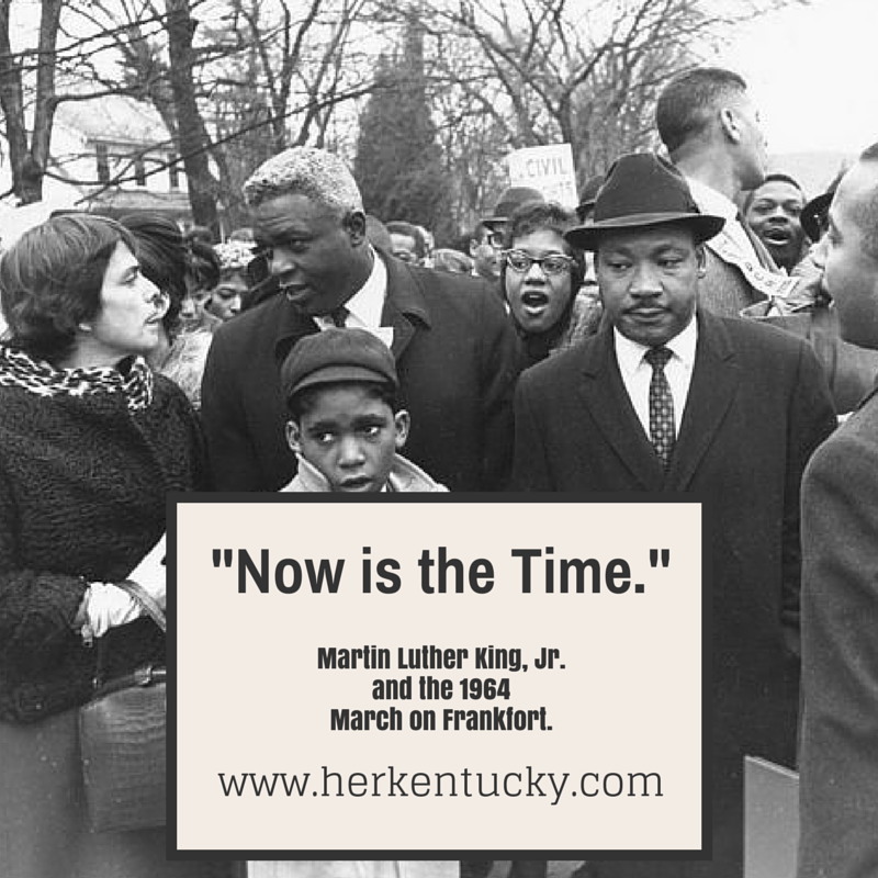 Martin Luther King Jr and the 1964 March on Frankfort | HerKentucky.com
