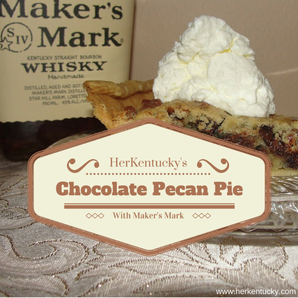 Derby Pie | Chocolate Pecan Pie with Maker's Mark | Kentucky Bourbon | HerKentucky.com