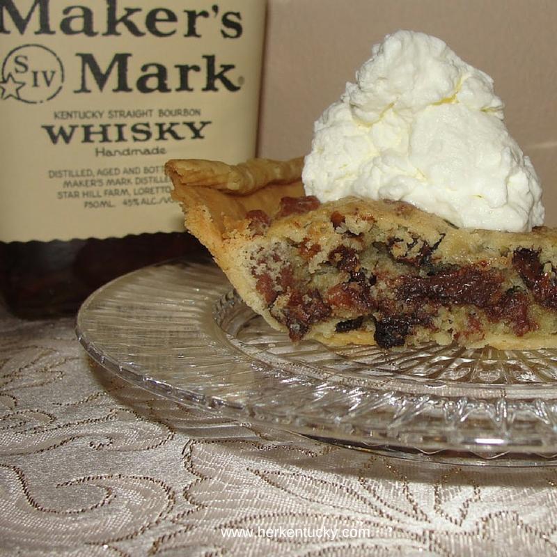 Derby Pie | Maker's Mark Chocolate Pecan Pie | HerKentucky.com