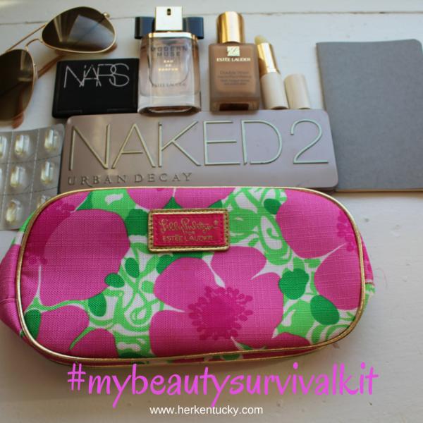 Macy's Beauty Survival Kit | Estee Lauder Nars Urban Decay Ray-Ban | Kentucky Beauty Blogger | HerKentucky.com