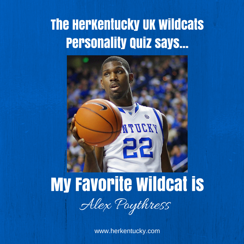 My Favorite UK Wildcat is Alex Poythress! HerKentucky.com