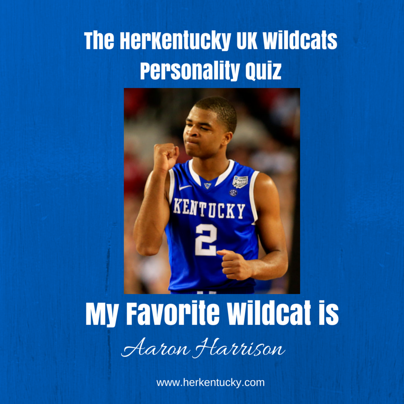 My favorite UK Wildcat is Aaron Harrison! HerKentucky.com