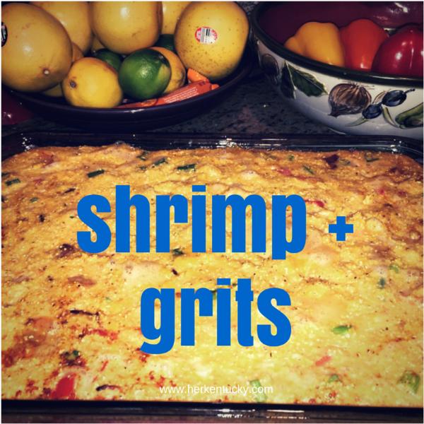 Shrimp + Grits | HerKentucky.com