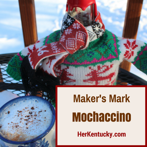 Maker's Mark Mochaccino | Kentucky Bourbon Coffee Drink | HerKentucky.com