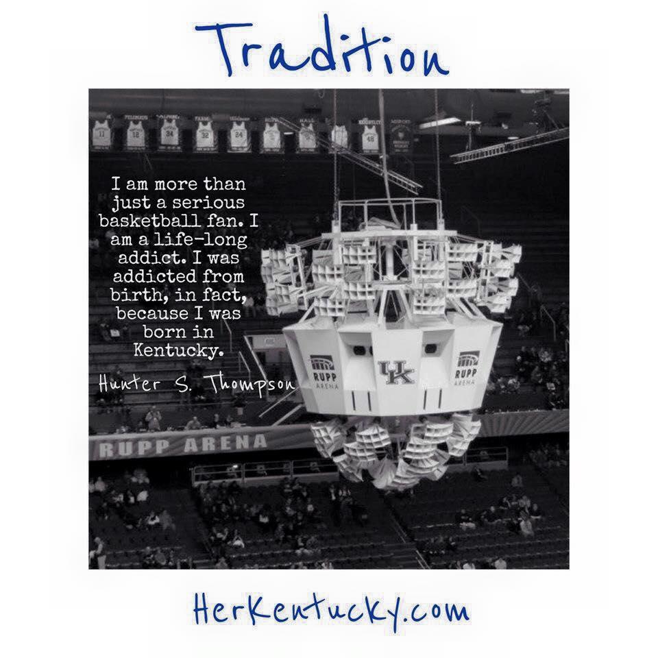 Hunter S Thompson Kentucky Basketball | HerKentucky.com