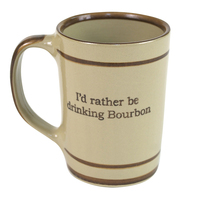 Bourbon Coffee Mug   Louisville Stoneware   HerKentucky.com