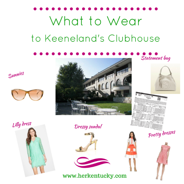 What to Wear to Keeneland's Clubhouse | Lexington KY Fashion Blogger | HerKentucky