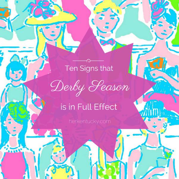 Ten Signs that Derby Season is in Full Effect