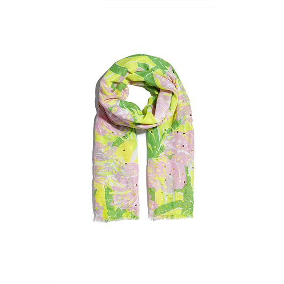 Lilly Pulitzer for Target Scarf | Louisville KY Fashion Blog | HerKentucky.com