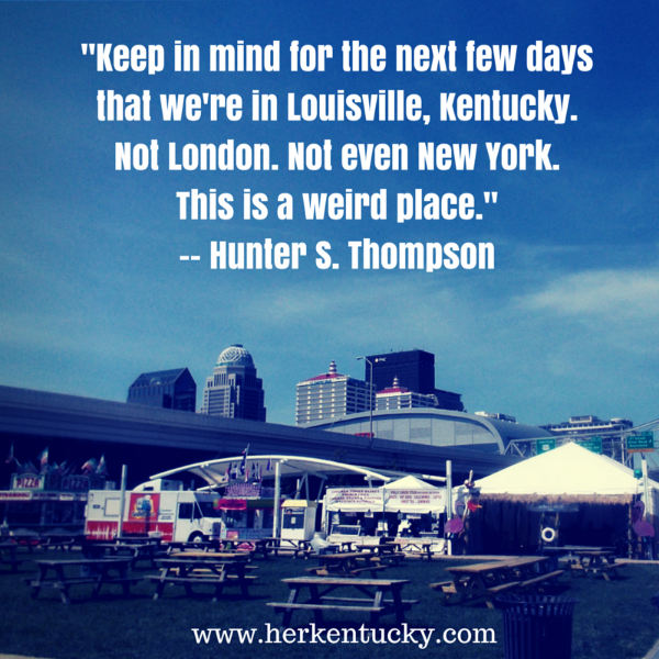The Kentucky Derby is Decadent and Depraved | Hunter S Thompson | HerKentucky.com