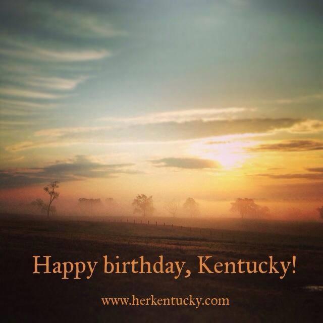 Happy Birthday, Kentucky!