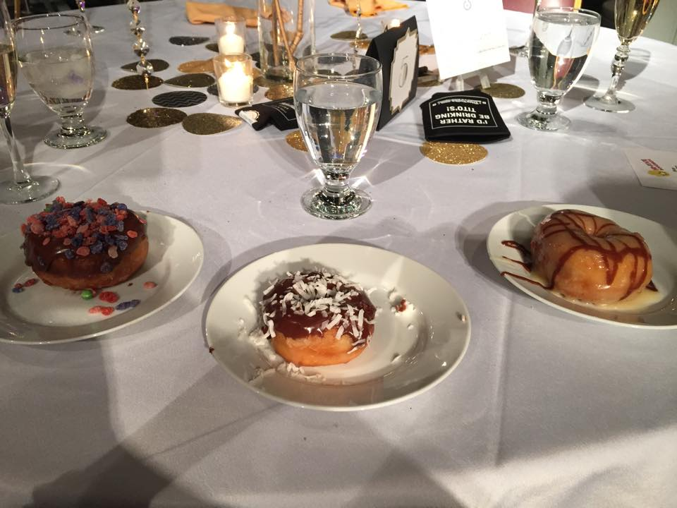 Hi-Five Doughnuts at Younger Woman's Club 2015 Gala. Photo courtesy Sarah Doran Mudd.