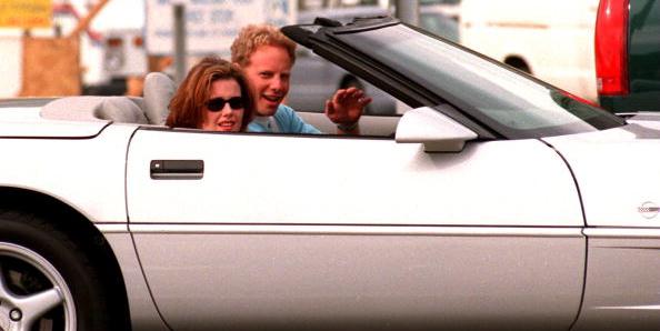 Everybody's favorite 1990s Corvette enthusiast, 90210's Steve Sanders!