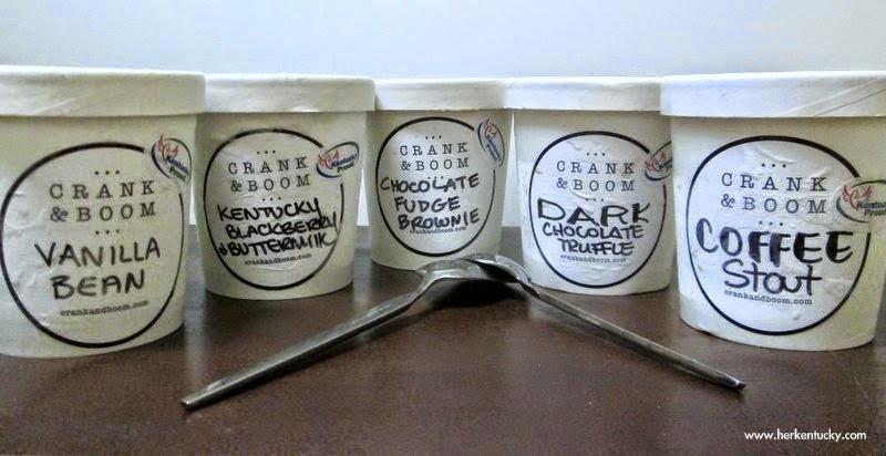 An assortment of Crank & Boom flavors