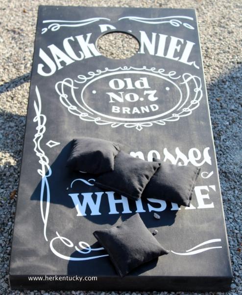 Jack Daniel's Cornhole Board