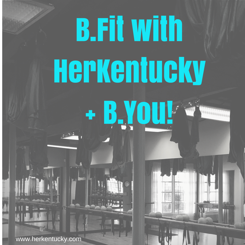 B.Fit with HerKentucky + BYou | Louisville KY Fitness Blogger | Barre Fitness | HerKentucky.com