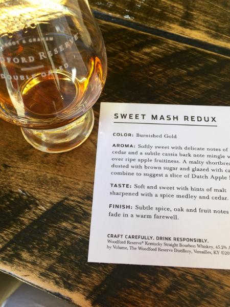 Woodford Reserve Sweet Mash Redux