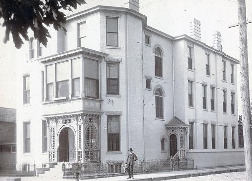 Belle Brezing's infamous Lexington house.