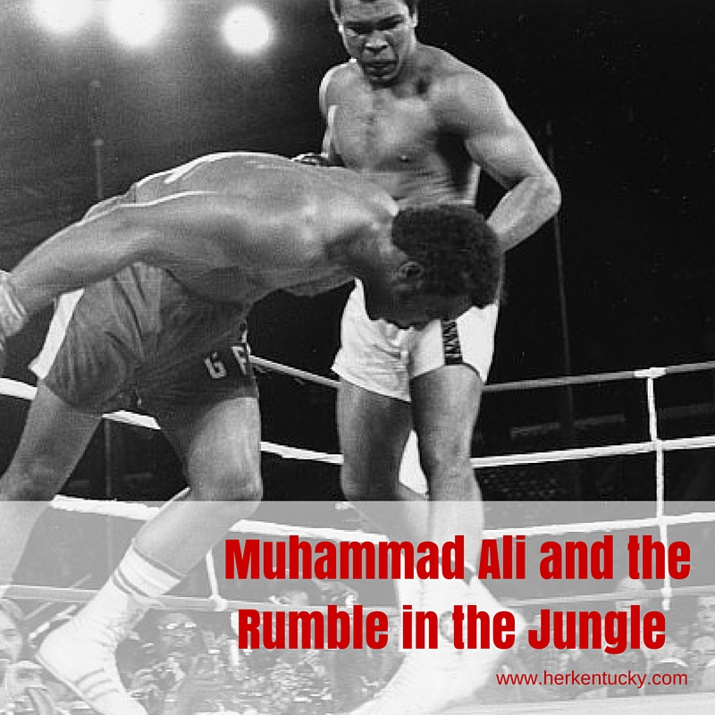 Muhammad Ali and the Rumble in the Jungle