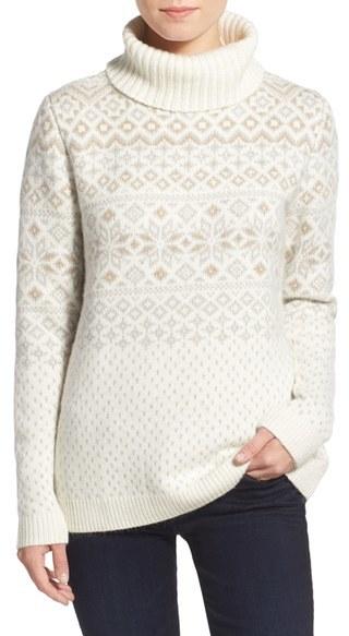 Snowflake sweater via  Vineyard Vines