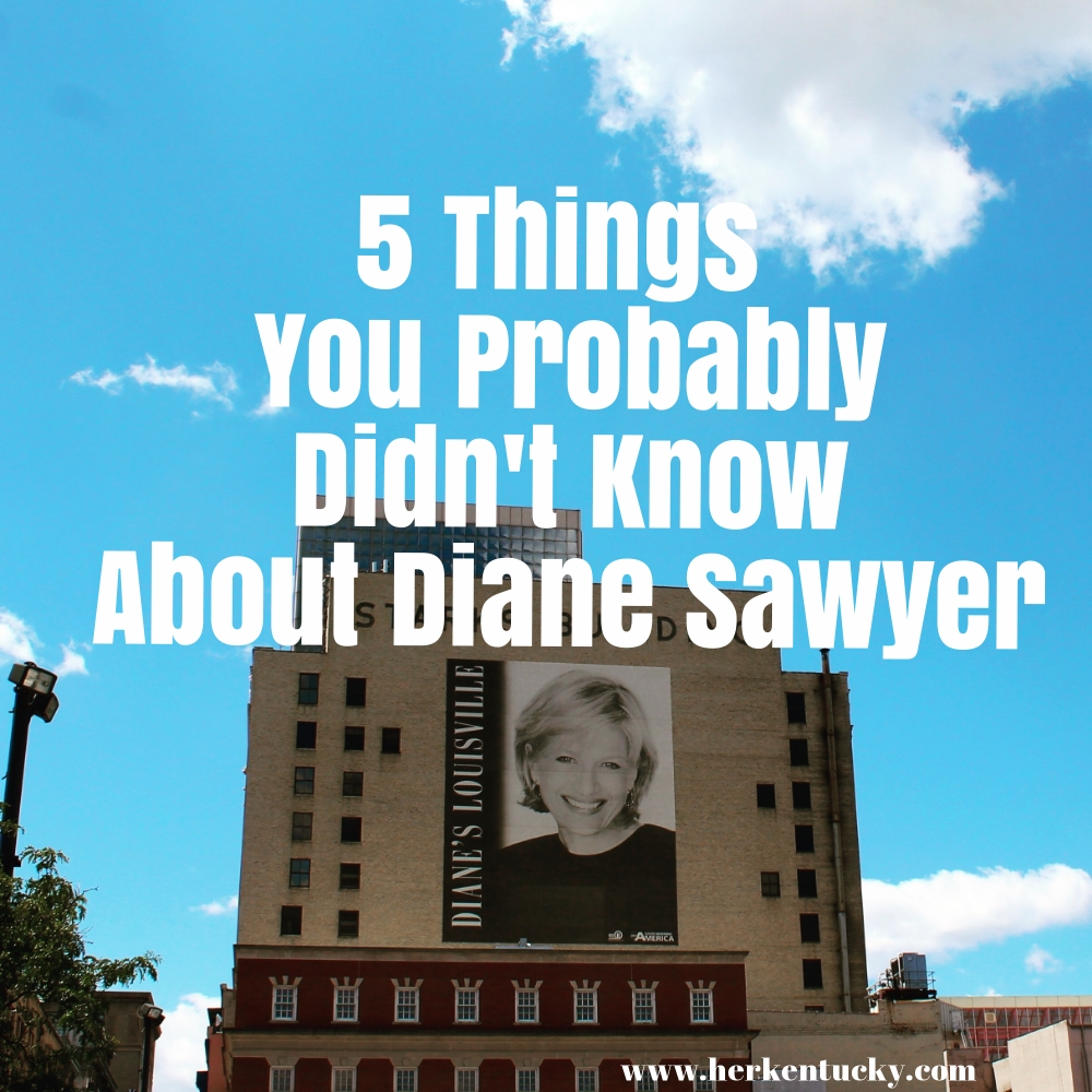 5 Things You Probably Didn't Know About Diane Sawyer