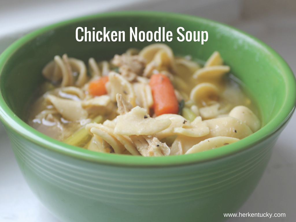 HerKentucky Chicken Noodle Soup