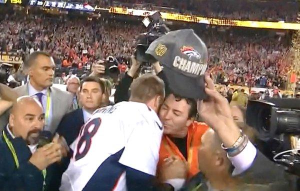 Peyton Manning and Papa John