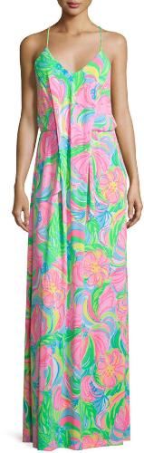 Lilly Pulitzer Rosa Maxi Dress