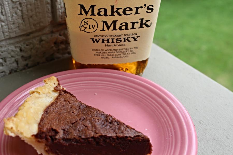 Maker's Mark Chocolate Chess Pie