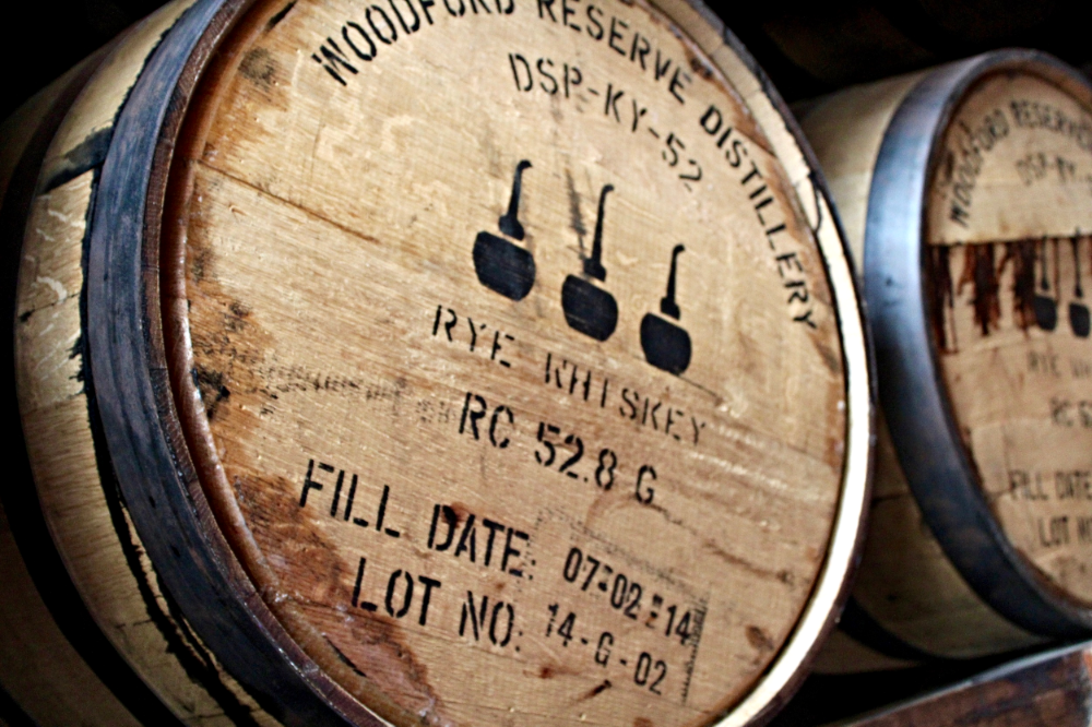Woodford Reserve Rye Whiskey Barrel