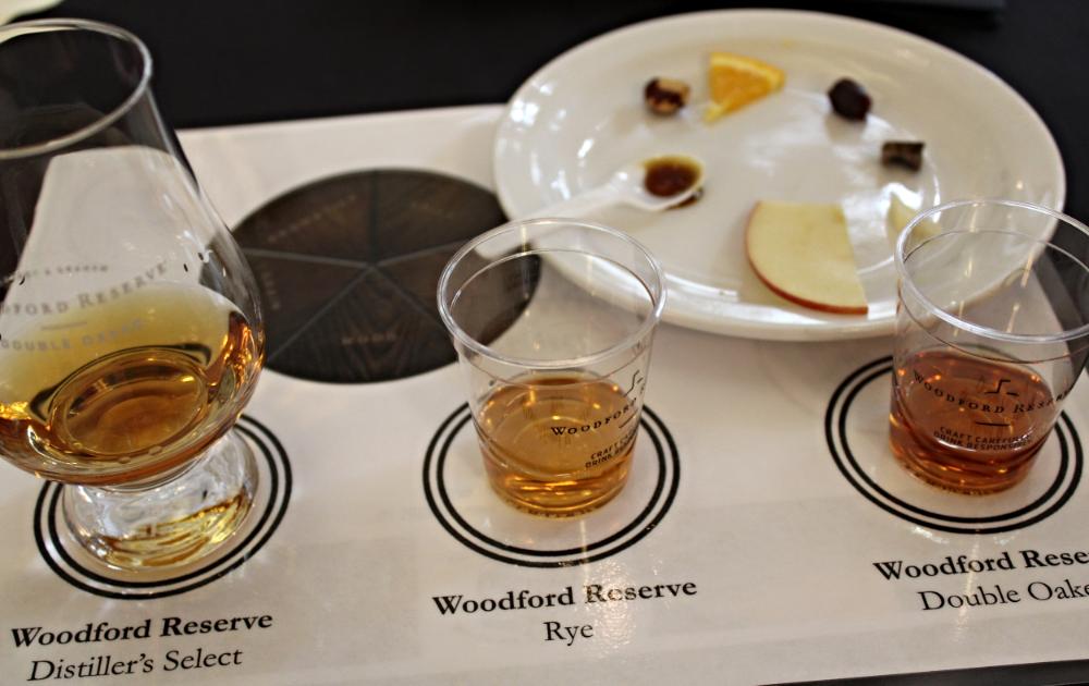 Woodford Reserve Flavor Wheel Tasting