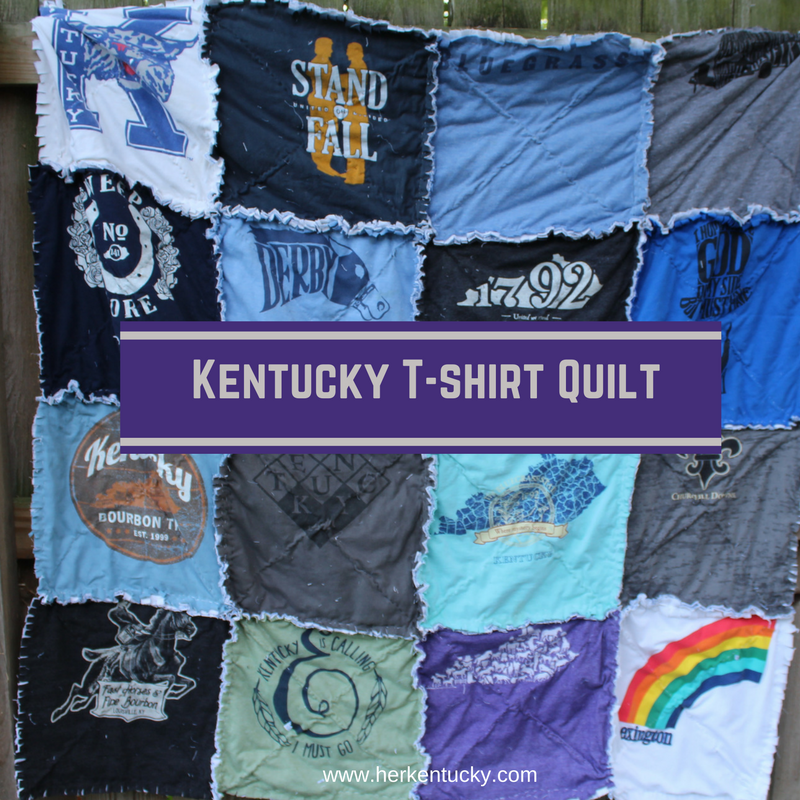 T-Shirt Rag Quilt Tutorial