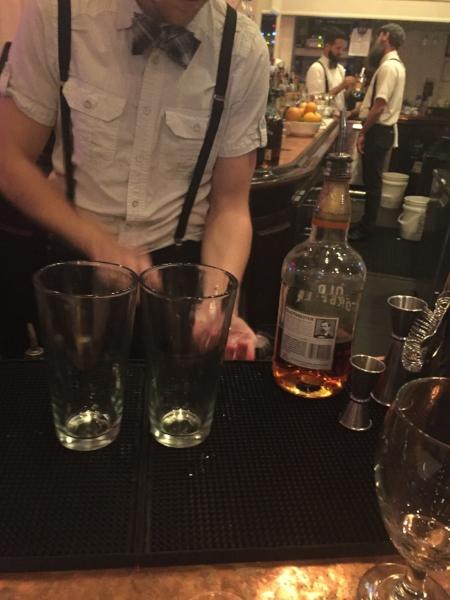 Any hipster bourbon bar, anywhere.