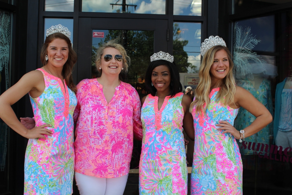 Me with the 2016 Kentucky Derby Festival Princesses