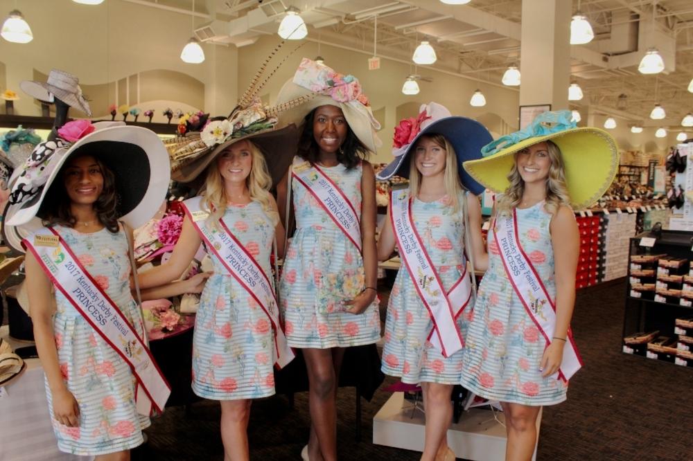 2017 Kentucky Derby Festival Princesses