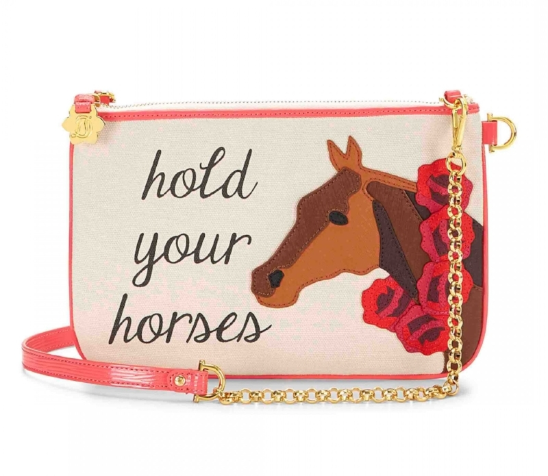 Draper James Hold Your Horses Envelope Clutch