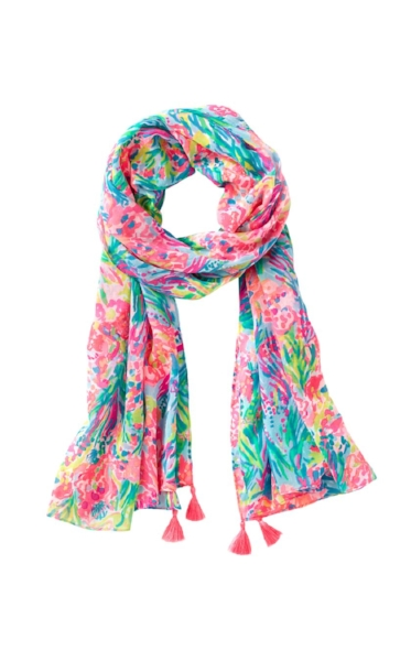 Lilly Pulitzer Fan Sea Pants scarf