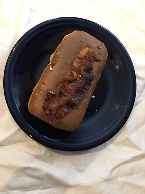 bacon maple donut Nord's