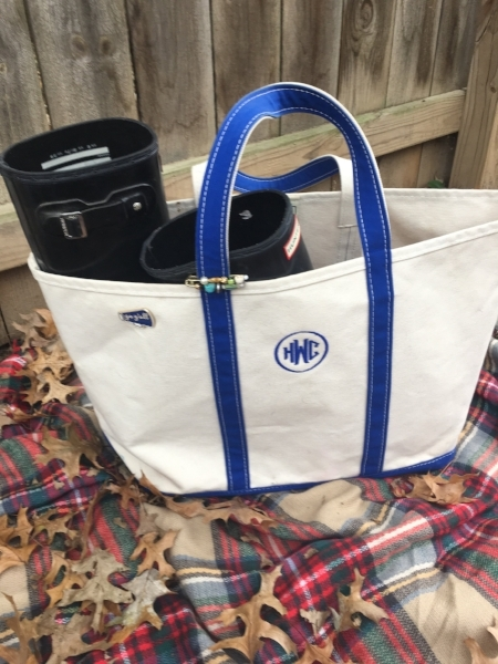 L.L. Bean open-top Boat and Tote