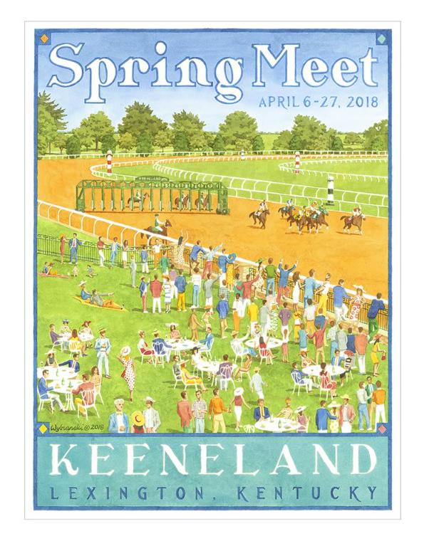 Keeneland Spring Race Meet 2018 print