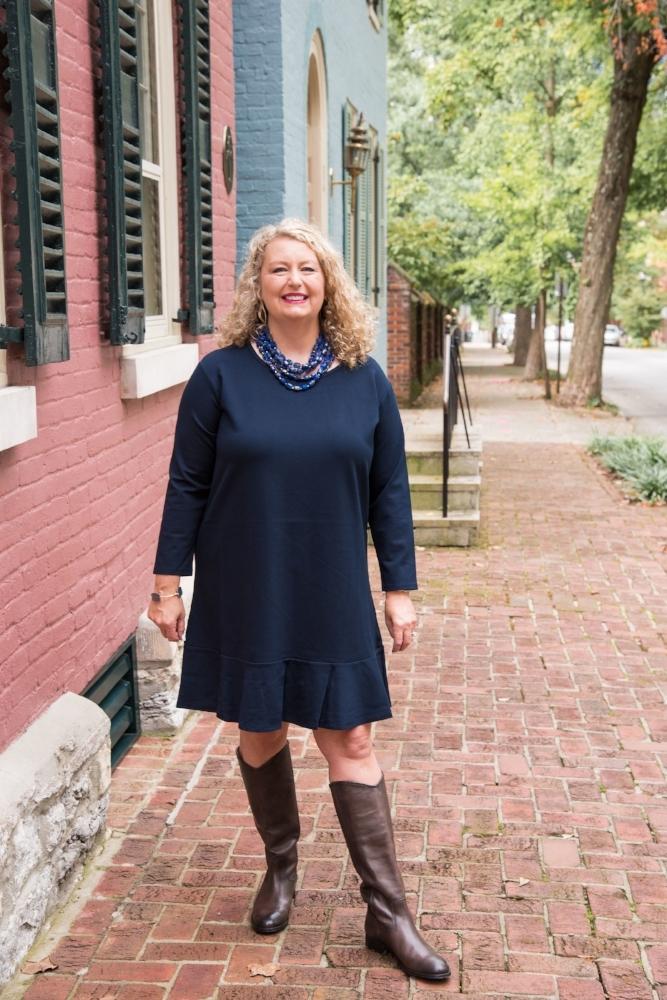 Lexington KY Fashion Blogger | Draper James Fall Dress