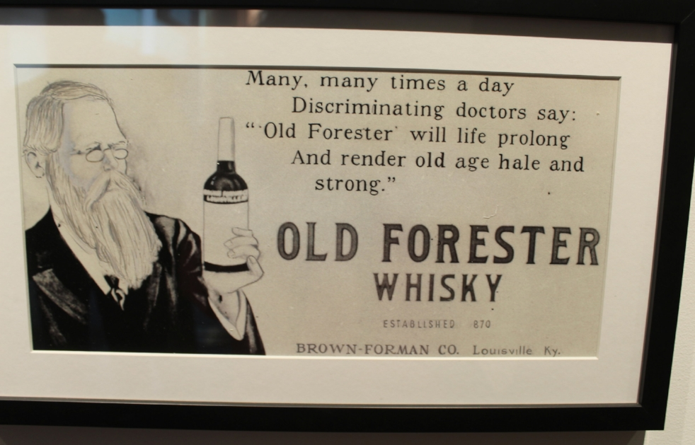 Old Forester Distillery Louisville KY