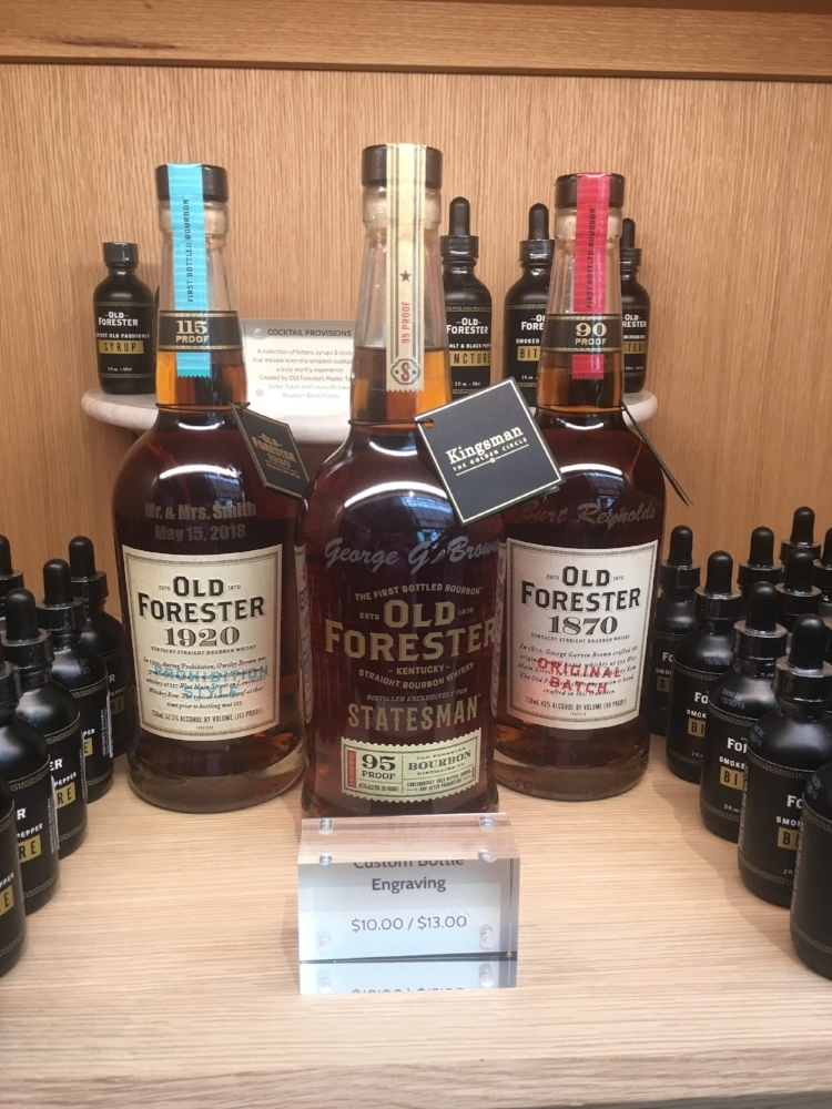 Old Forester Distillery Louisville Kentucky