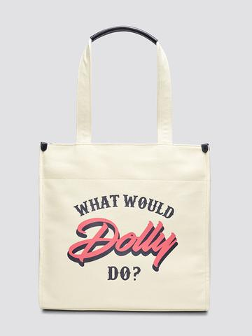 Dolly Canvas Tote