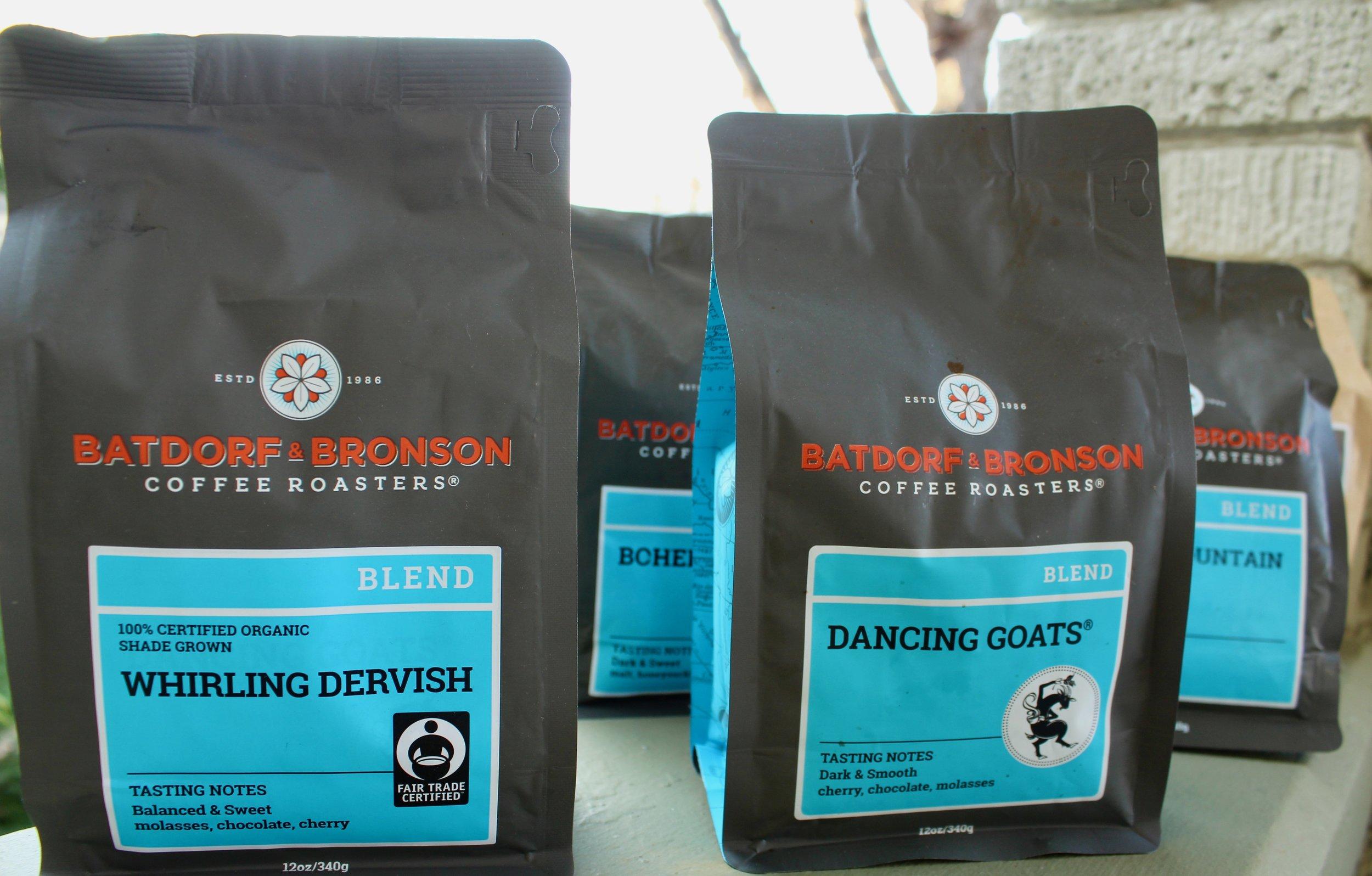 Batdorf and Bronson Dancing Goats Coffee