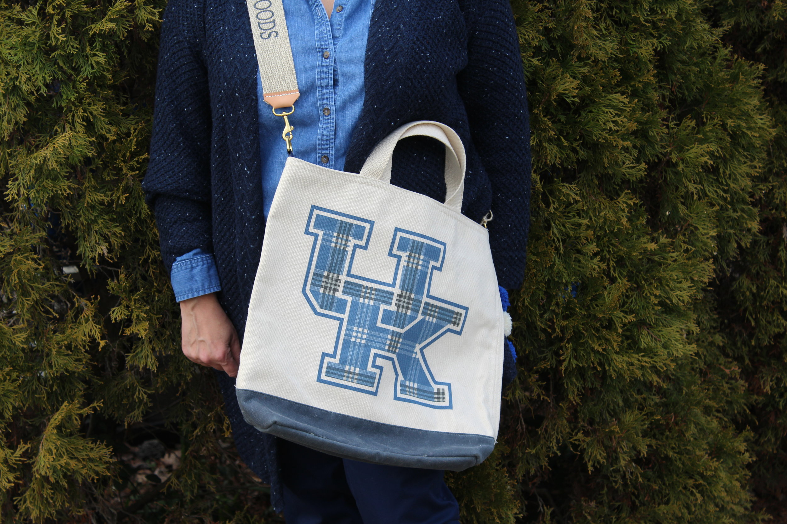 Henry Dry Goods University of Kentucky Plaid