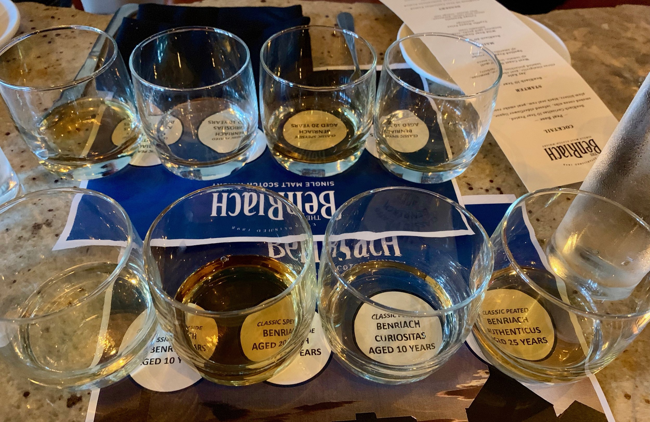 BenRiach Whisky Tasting